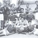 Футбольная команда посёлка Старая Вичуга, 1930 год