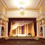 Большой зрительный зал Дворца культуры