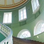 Дворец культуры, лестница на второй этаж