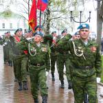 На церемонии открытия памятника А.М. Василевскому, 8 мая 2006 года