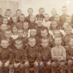 Ученики Тезинского фабричного училища, 1911 год
