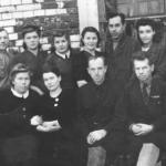 Коллектив Новописцовского сельпо, 1957 год