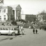 Площадь перед клубом фабрики имени Ногина, 1975 год