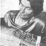 Прасковья Ивановна Виноградова - мать Е.В. Виноградовой, 1935 год