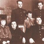 Маршал А.М. Василевский с семьёй, начало 50-х г.г. ХХ века