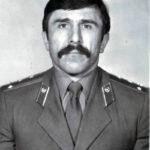 Заместитель начальника СВПЧ-14 г. Вичуга Муца Бетилгиреев, геройски погибший в 1994 году во время тушения пожара на фабрике имени Ногина, фото начала 90-х годов ХХ века